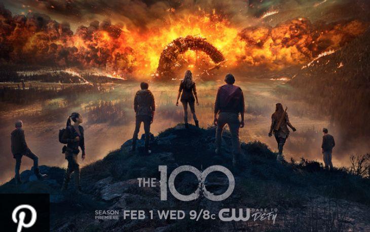 Resultado de imagem para THE 100 season 4 poster