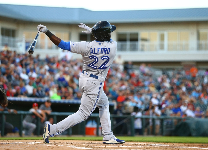 Toronto Blue Jays 2017 top prospects: #3 Anthony Alford