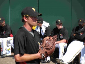 Zach Duke attempts to grab a spot in the Pirates rotation today as he faces the World Champion Philadelphia Phillies today in Clearwater.