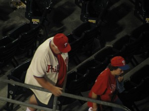 Heh you! Heh, you guys with your head down... I Love Brad Lidge. His 7.33ERA is so hotttt!
