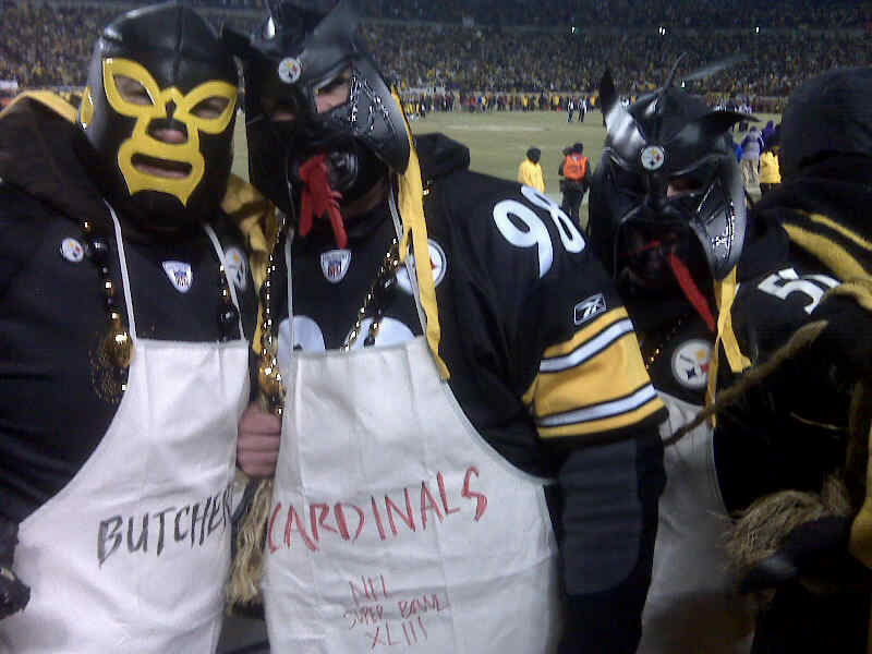 Ben's Cardinal Butchers after Flacco was choked out in the AFC Championship