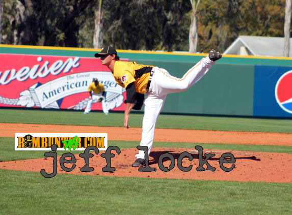Jeff Locke had 25 strikeouts in 28.1 innings in five AAA starts to