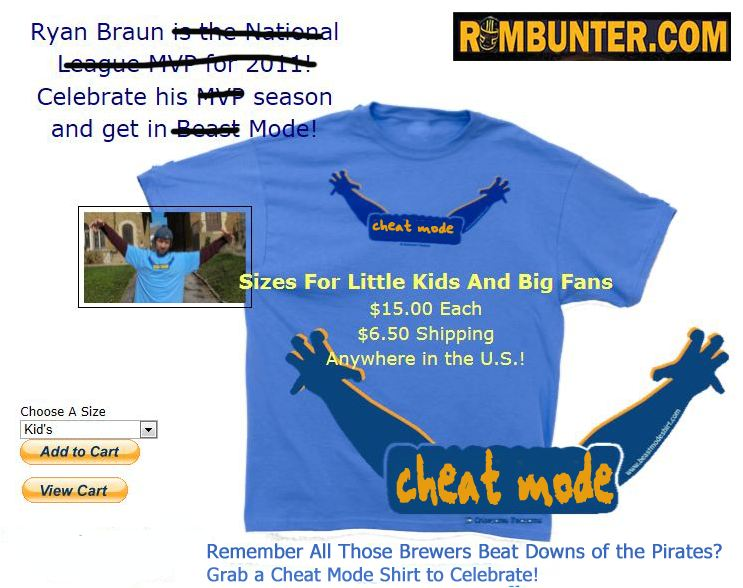 The Milwaukee Brewers Beast Mode Shirt sales have slowed in the past 24 hours.
