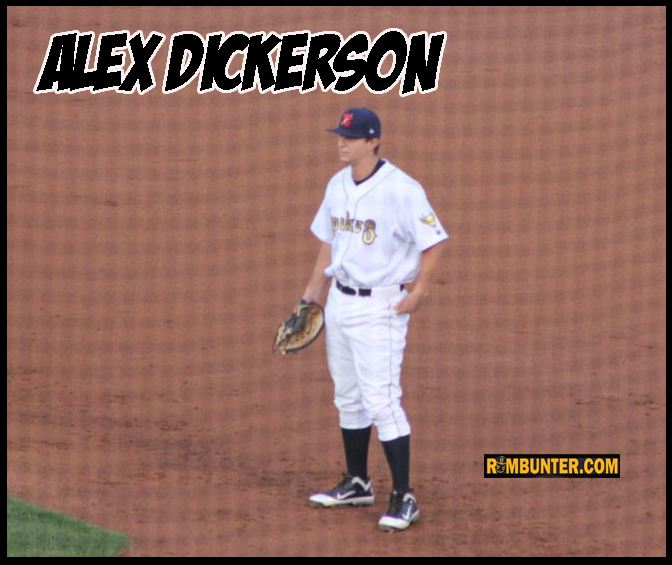 Dickerson was known for his bat and he delivered for the Spikes with three bombs, a triple, and sixteen doubles in 150 at-bats.