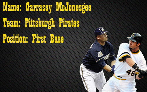 Garrett Jones and Casey McGehee Will Platoon At First Base in 2012