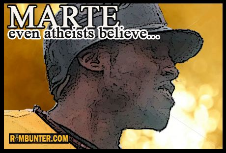 Starling Marte. Even Atheists Believe.