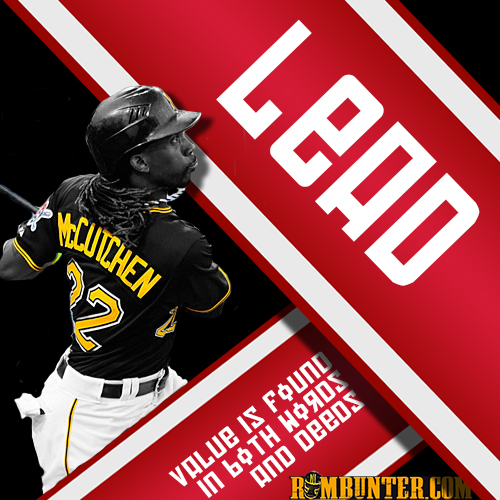Andrew McCutchen has become the unquestioned leader of the Pittsburgh Pirates.