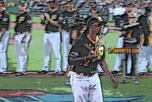 Andrew McCutchen did a 360 during the introduction.