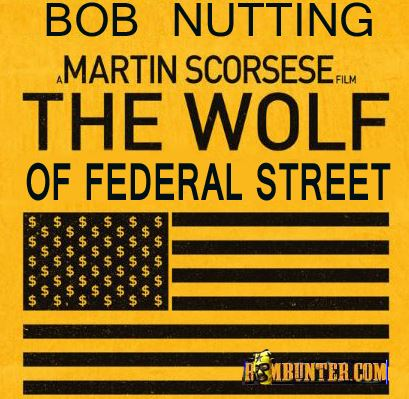 Bob Nutting stars in The Wolf of Federal Street