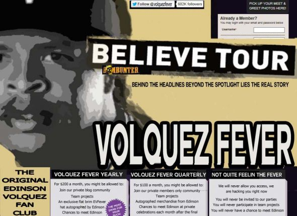 VolquezFever.com is about to go live!