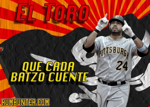 Pedro Alvarez is tied for the Major League lead in home runs.