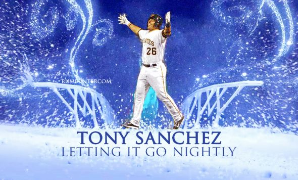 Pirates Tony Sanchez Let it Go