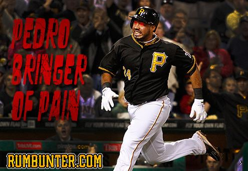 Pedro Alvarez hit his third and fourth home runs of 2014.
