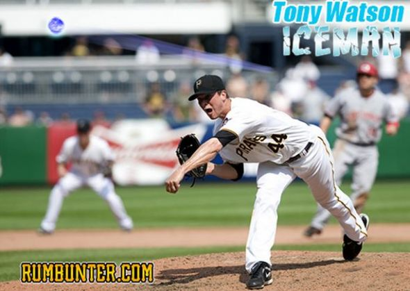 Tony Watson is the Ice Man.