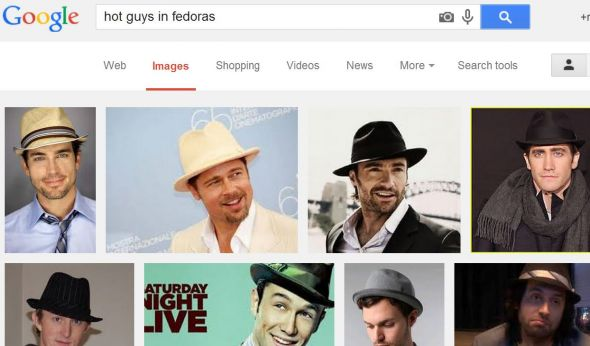 Hot guys in fedoras