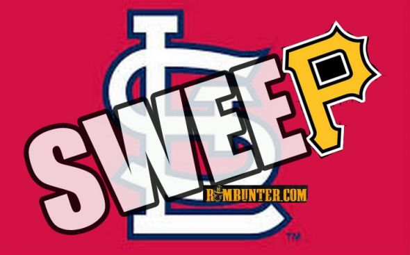 The Pirates need to sweep the Cardinals.