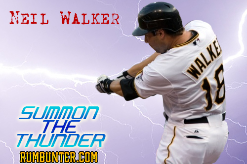 Neil Walker returns to the Pittsburgh Pirates lineup tonight against the Rays.