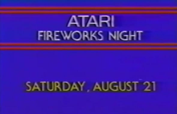 Atari Fireworks Night in 1982 wasn't a sellout at Three Rivers