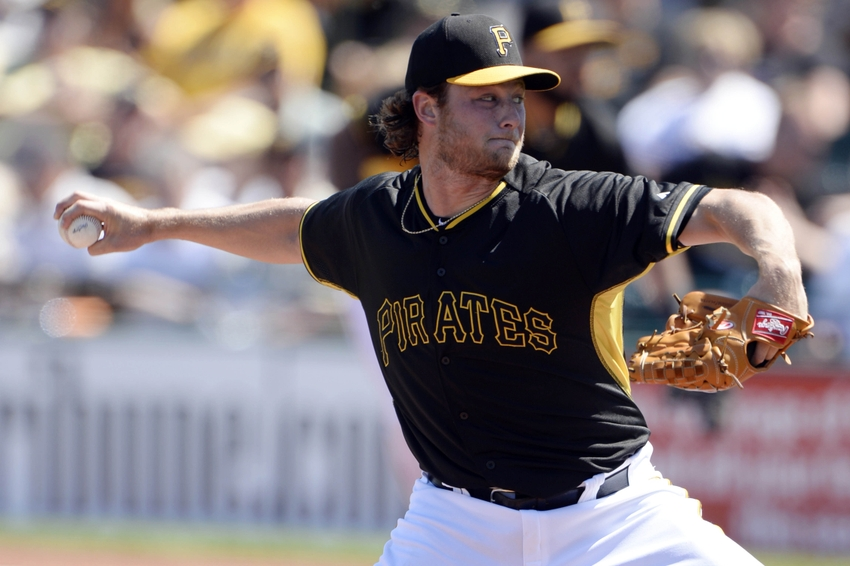 Gerrit Cole Pirates Playoffs The best pitche...