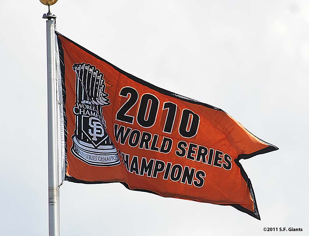 World Series Champions banner