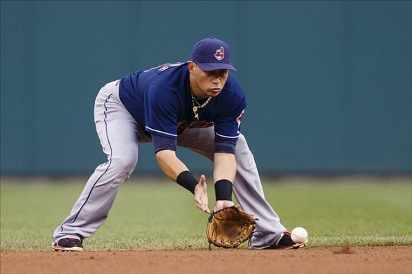 Asdrubal Cabrera of the Cleveland Indians