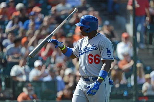 Yasiel Puis of the Los Angeles Dodgers is a punk who needs to get hit