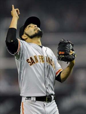 Sergio Romo named to All-Star team