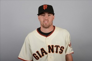 February 20, 2013; Scottsdale, AZ, USA; San Francisco Giants pitcher Heath Hembree (72) poses for a picture during photo day at Scottsdale Stadium. Mandatory Credit: Kyle Terada-USA TODAY Sports