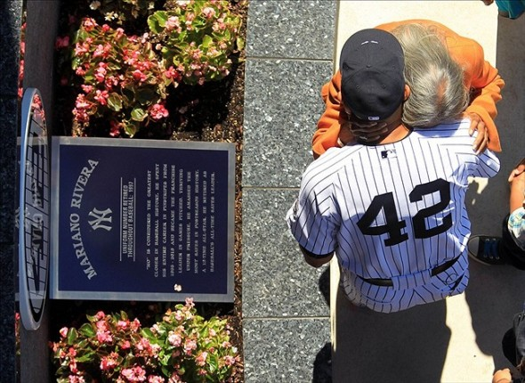 Mariano Rivera Number Retired