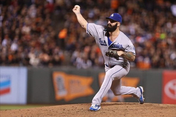 Brian Wilson in blue? Even as we speak.