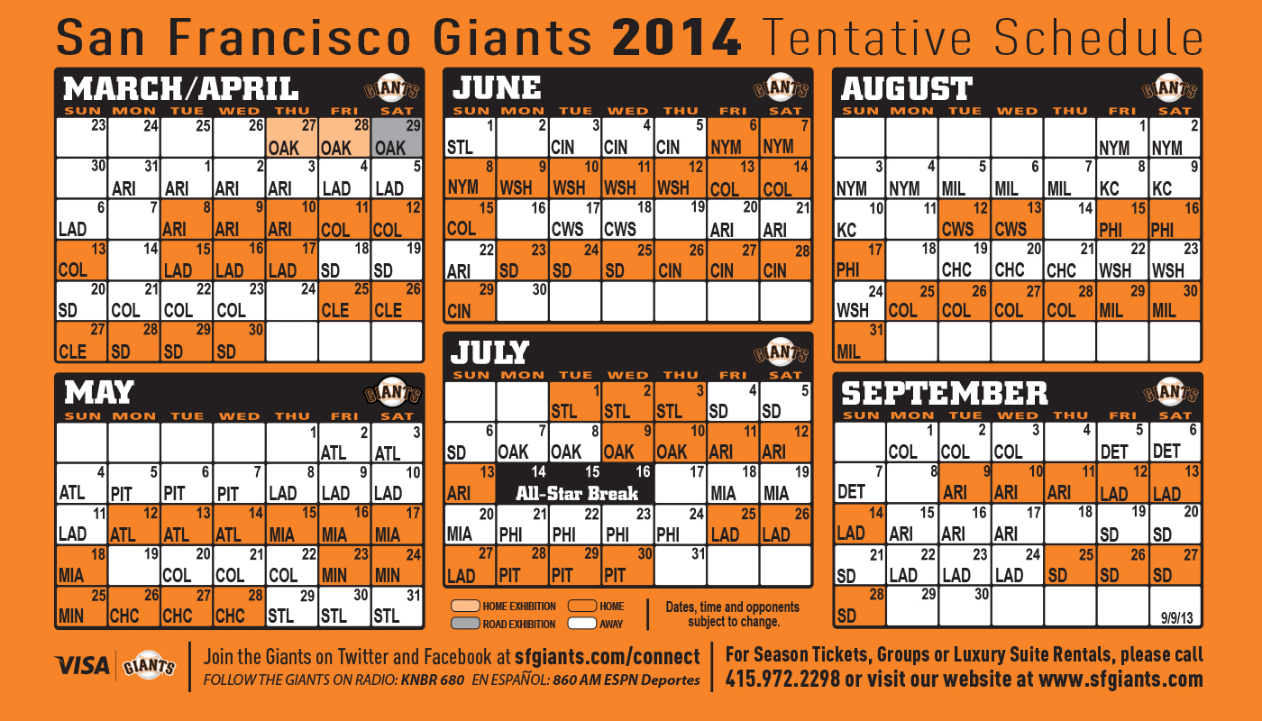 It's just a graphic of Intrepid Sf Giants Schedule Printable