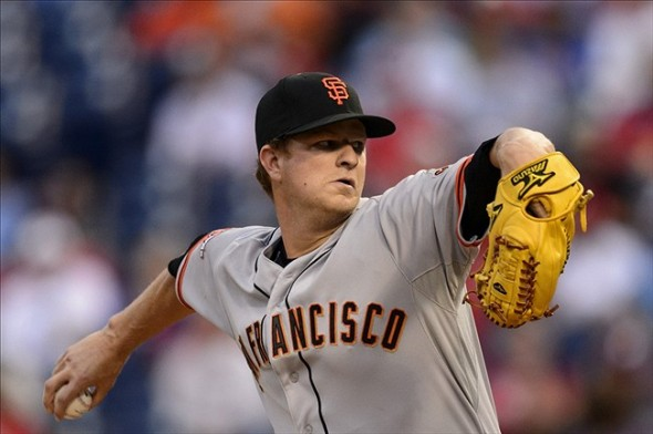 San Francisco Giants' pitcher, Matt Cain.