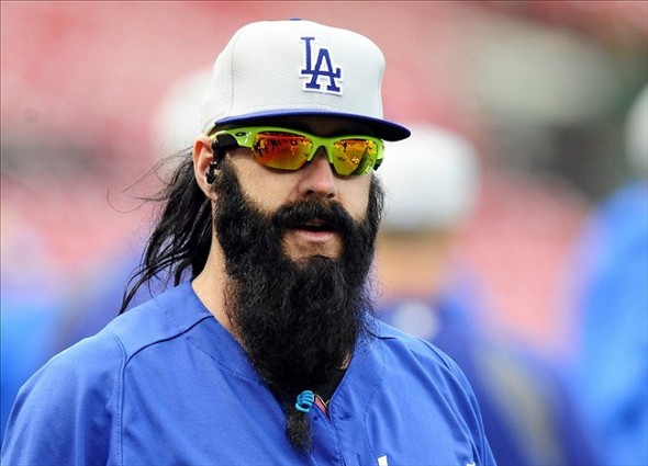 Any time San Francisco Giants's fans see Brian Wilson come on the field at AT&T Park, they react. I think it safe to say that the Dodgers/Giants feud is alive and kicking!