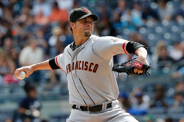 Ryan Vogelsong of the San Francisco Giants