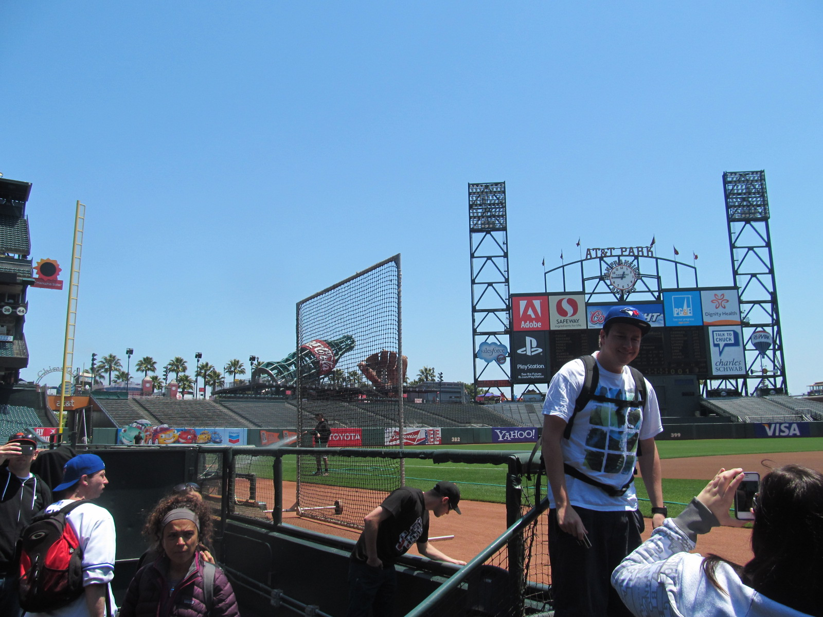 View of LF from Giants Dugout