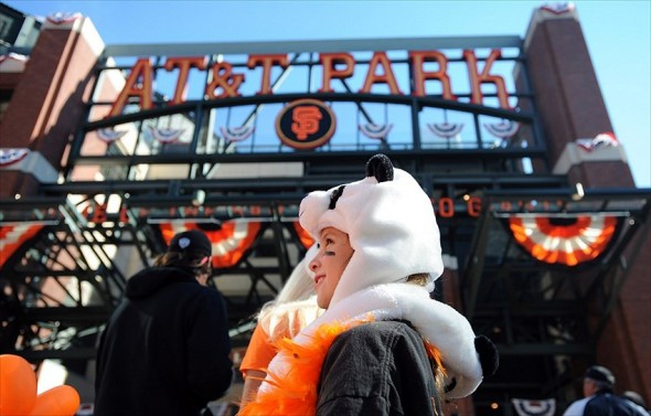 This isn't a pitcher of Guzman because USA Today doesn't have one, but here's a cute Panda hat outside of AT&T Park in San Francisco instead. ©H. Darr Beiser-USA TODAY Sports