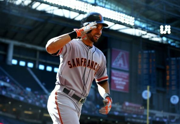 Angel Pagan during his hot start to the season