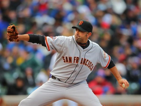 Jeremy Affeldt of the San Francisco Giants