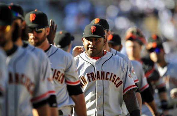 Pablo Sandoval of the San Francisco Giants