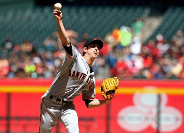 Tha San Francisco Giants' Tim Lincecum