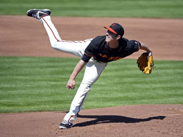 Tim Lincecum of the San Francisco Giants