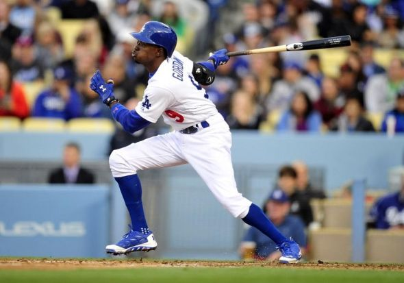 Dee Gordon of the Dodgers