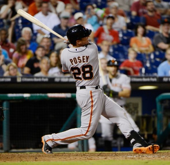 Buster Posey of the San Francisco Giants