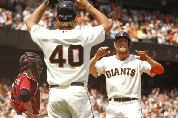 It's been a wild first half, but the San Francisco Giants enter the second half only one game out in the NL West. Photo Credit: Cary Edmondson-USA TODAY Sports