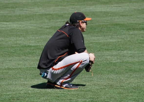 Timmy during BP photo by Denise Walos 7/5/14
