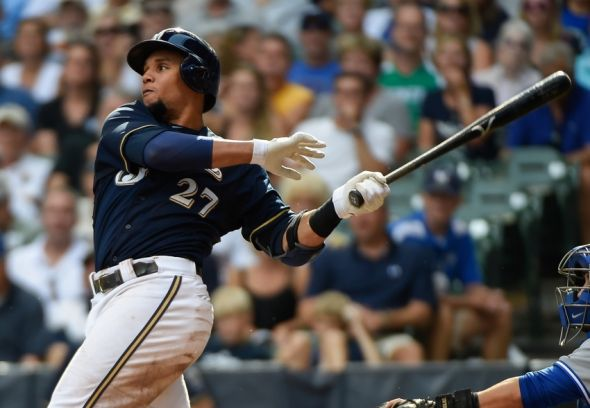 Carlos Gomez, Milwaukee Brewers