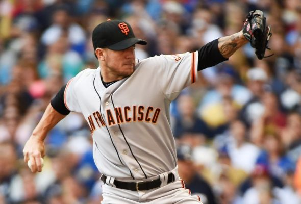 Jake Peavy, San Francisco Giants