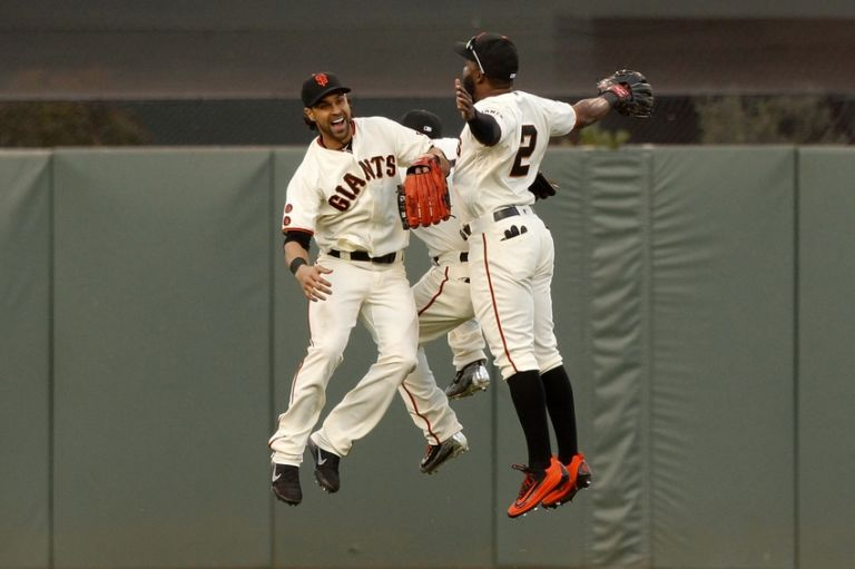 Denard-span-gregor-blanco-angel-pagan-mlb-chicago-cubs-san-francisco-giants-768x511