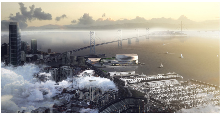 Courtesy of Warriors San Francisco Arena Development Project