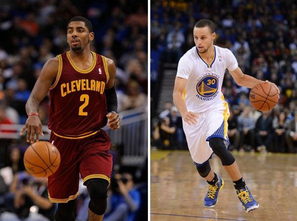 Stephen Curry and Kyrie Irving are two of the league's best and brightest point guards, but both do far more than just pass the ball. Kyle Terada, Kim Klement -- USA TODAY Sports